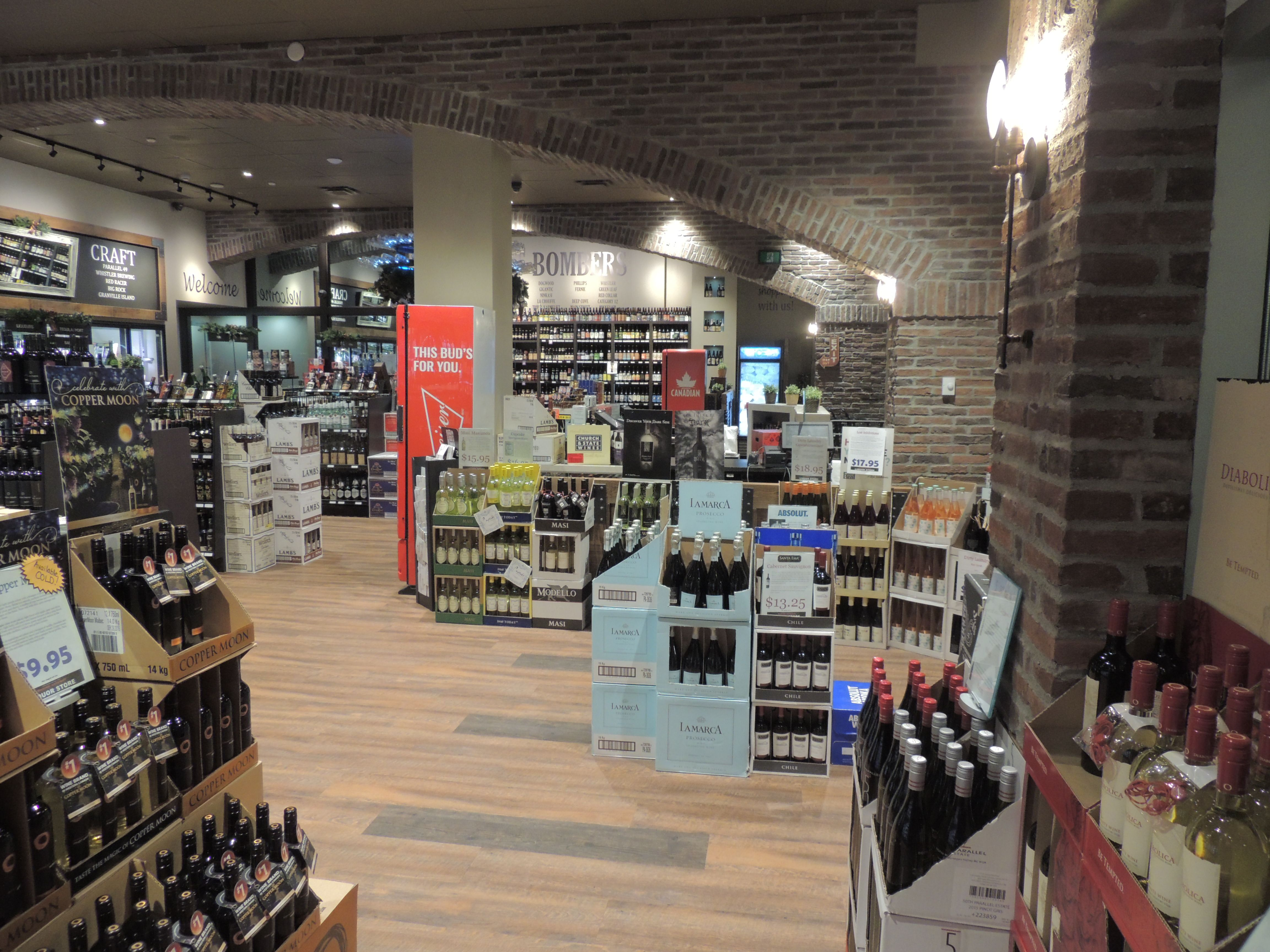 Pin by Bay City Projects on Marine Gateway Liquor Store