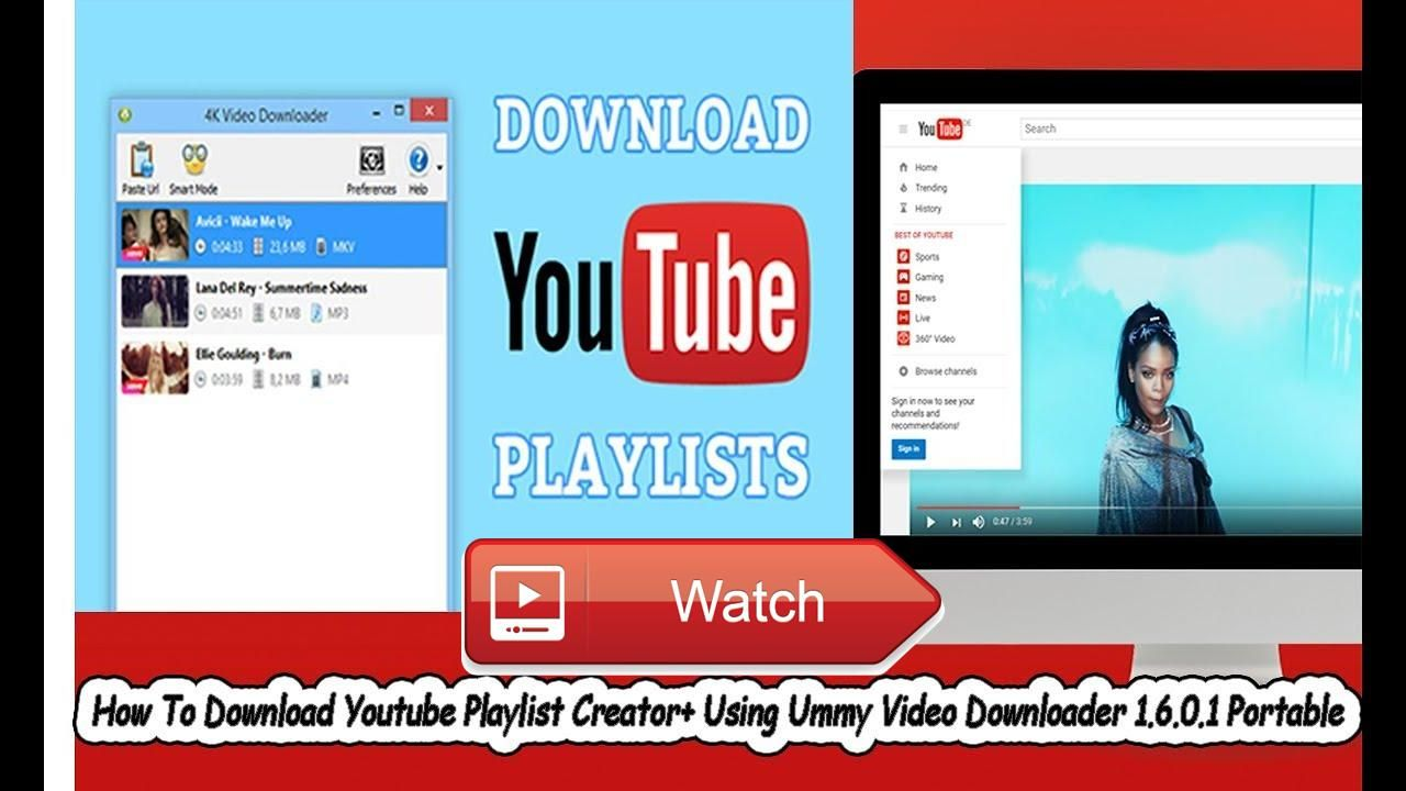 How To Download Youtube Playlist Creator Using Ummy Video Downloader