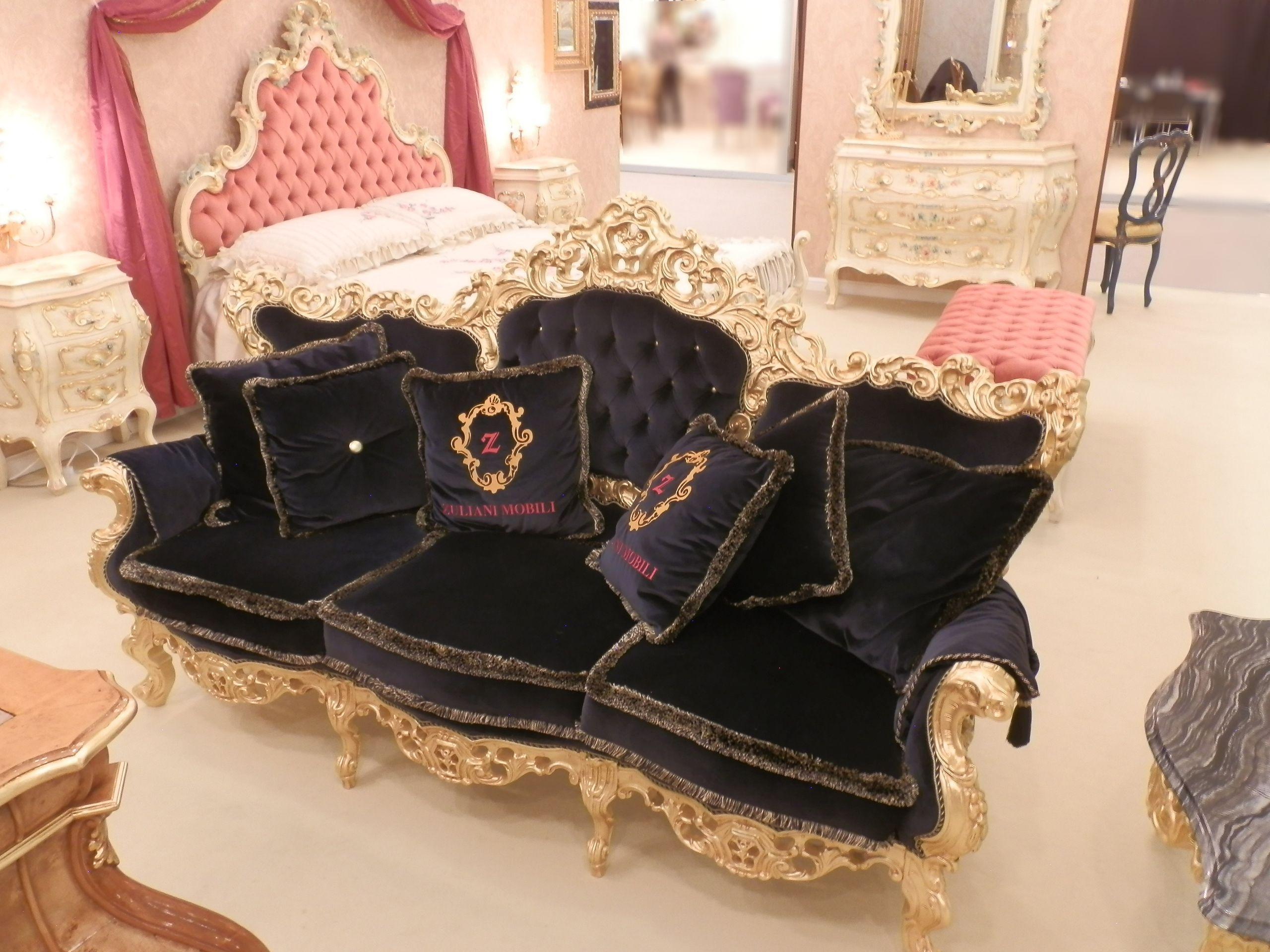 divano, acero massiccio. #arredamento #classico #furniture #mobili ... - Arredamento Classico Milano