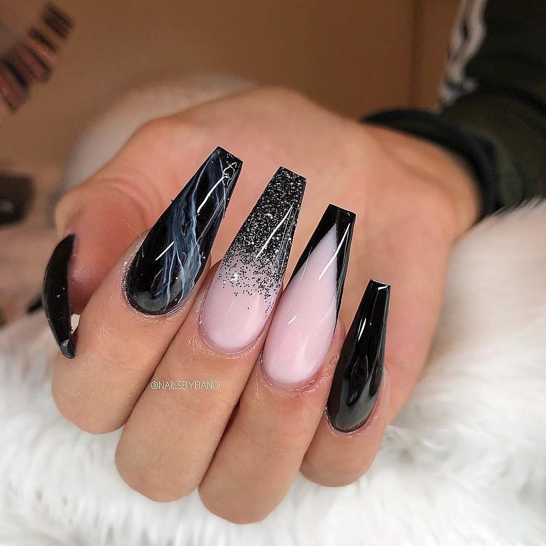 100 Bright Summer Nail Designs 2019 Coffin Nails Designs Long Acrylic Nails Halloween Acrylic Nails