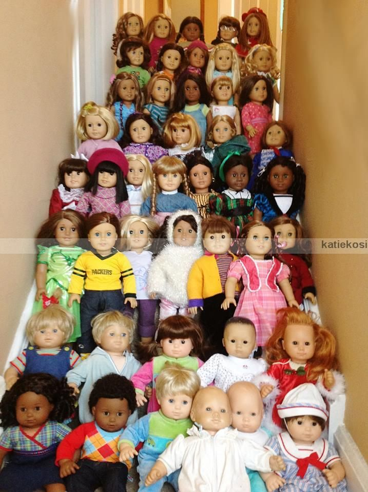 Someone S American Girl Doll Collection I Have That Many