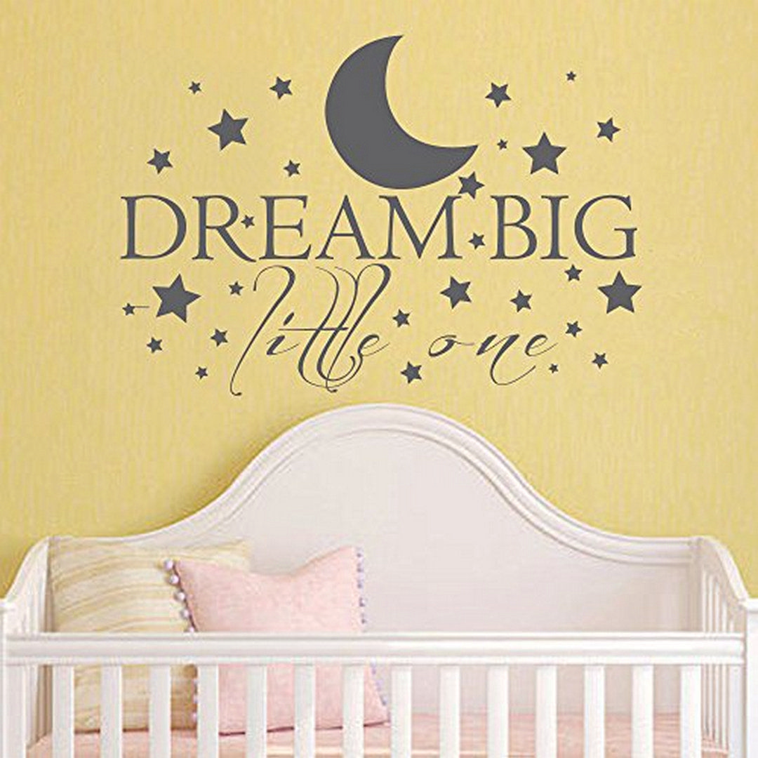 38 Dazzling Moon and Stars Nursery Decoration Ideas | Star nursery ...