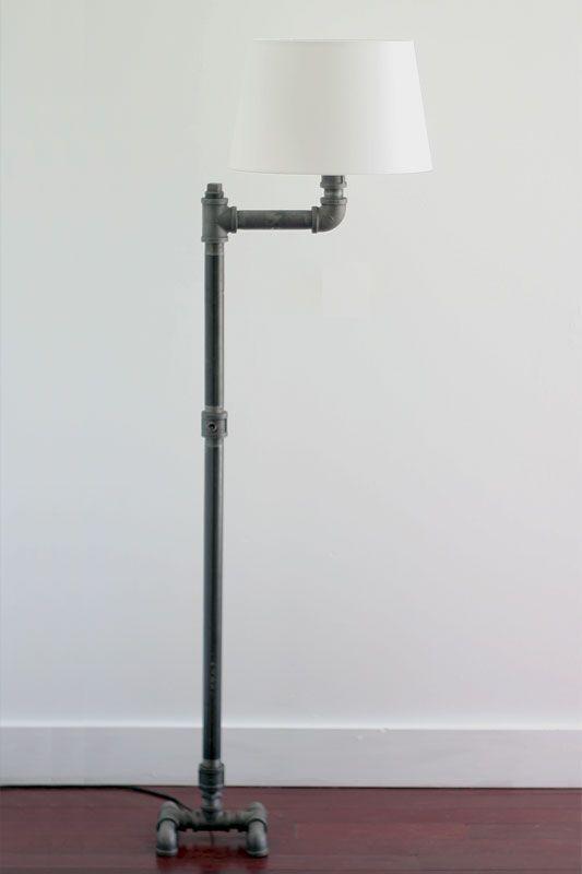 Marvelous Diy Pipe Lighting. Floor Bot | Plumbot.ca Pipe And Flange Diy Diy Lighting