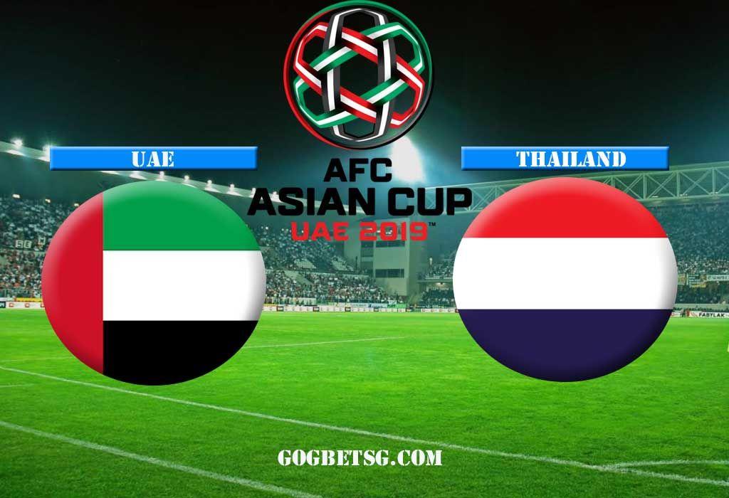 AFC ASIAN CUP 2019 UAE VS THAILAND 14/01/2019