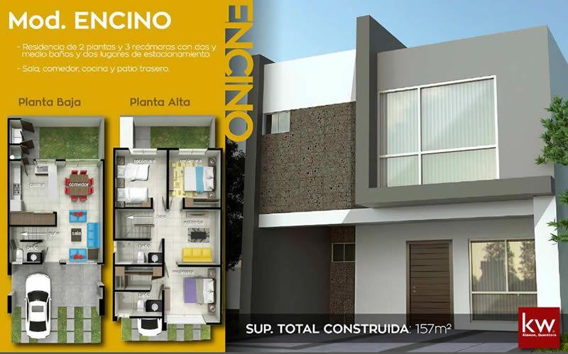 Amplia y bonita casa en zibata casas en quer taro for Casa moderna en venta queretaro