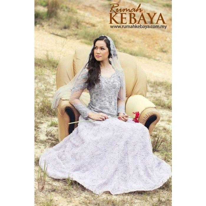 Wedding Gown Malaysia: Modern Malay Wedding Dress By Rumah Kebaya Malaysia