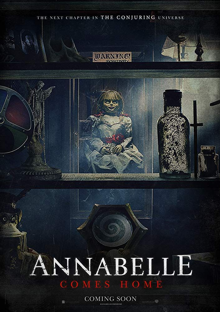 Annabelle Comes Home 2019 Official Trailer The Conjuring Full Movies Horror Movies