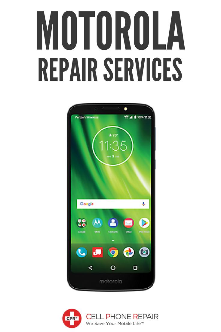 Broken Motorola smartphone? CPR Cell Phone Repair is here to save