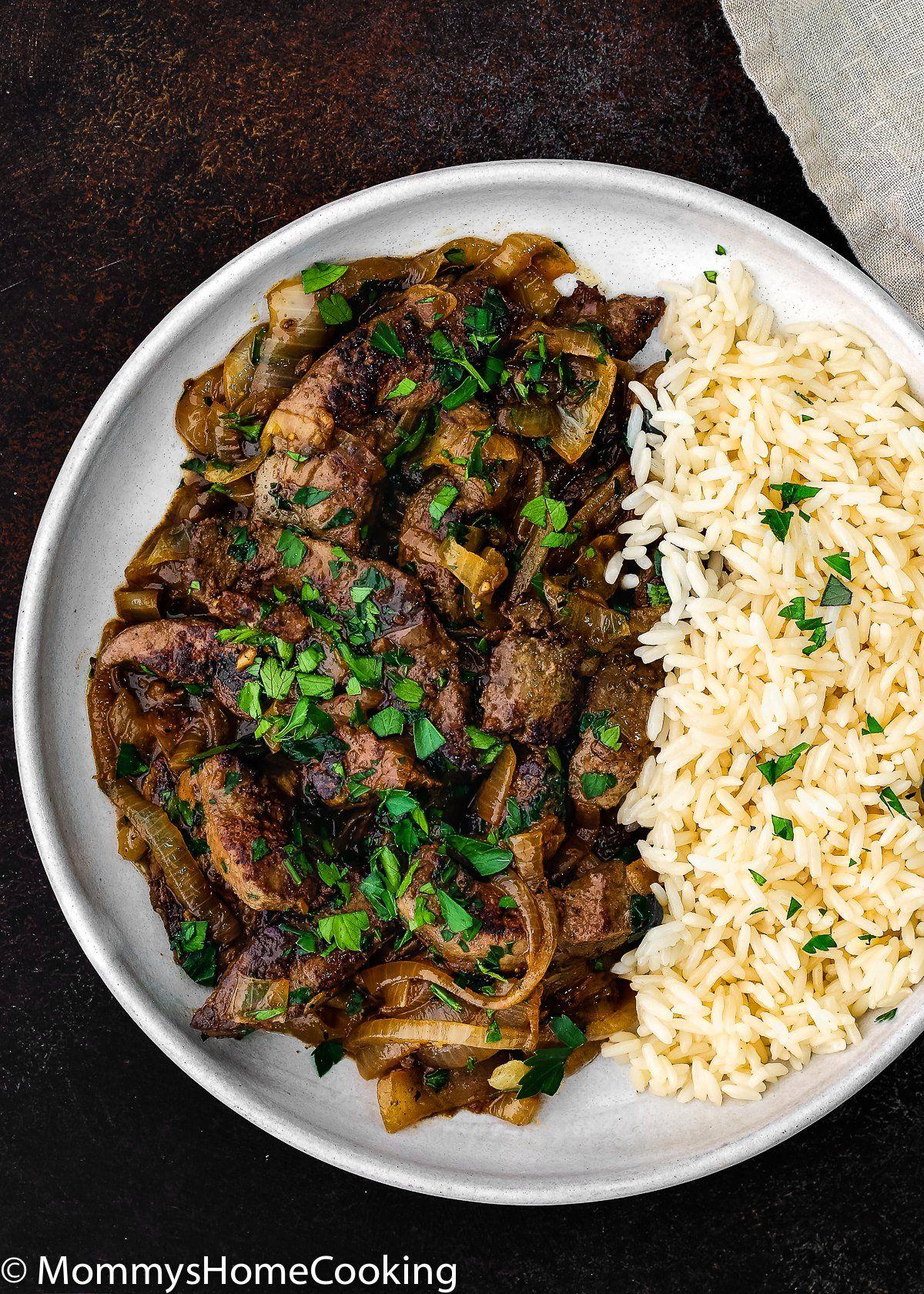 Venezuelan Beef Liver And Onions Recipe Liver And Onions Beef Recipes Liver Recipes