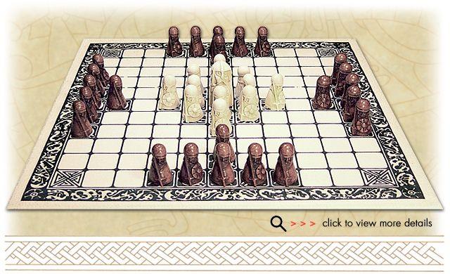 The Viking Game Hnefatafl  http://www.norseamerica.com/Hnefatafl.html  https://medium.com/war-is-boring/cef088ae4e2d