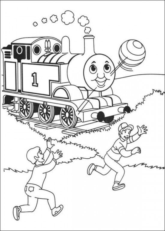 Thomas The Train Coloring Pages Picture 29 | Sebastian | Pinterest