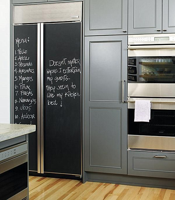 Chalkboard Paint Wall | Chalkboard Paint Ideas: When Writing On The Walls  Becomes Fun .
