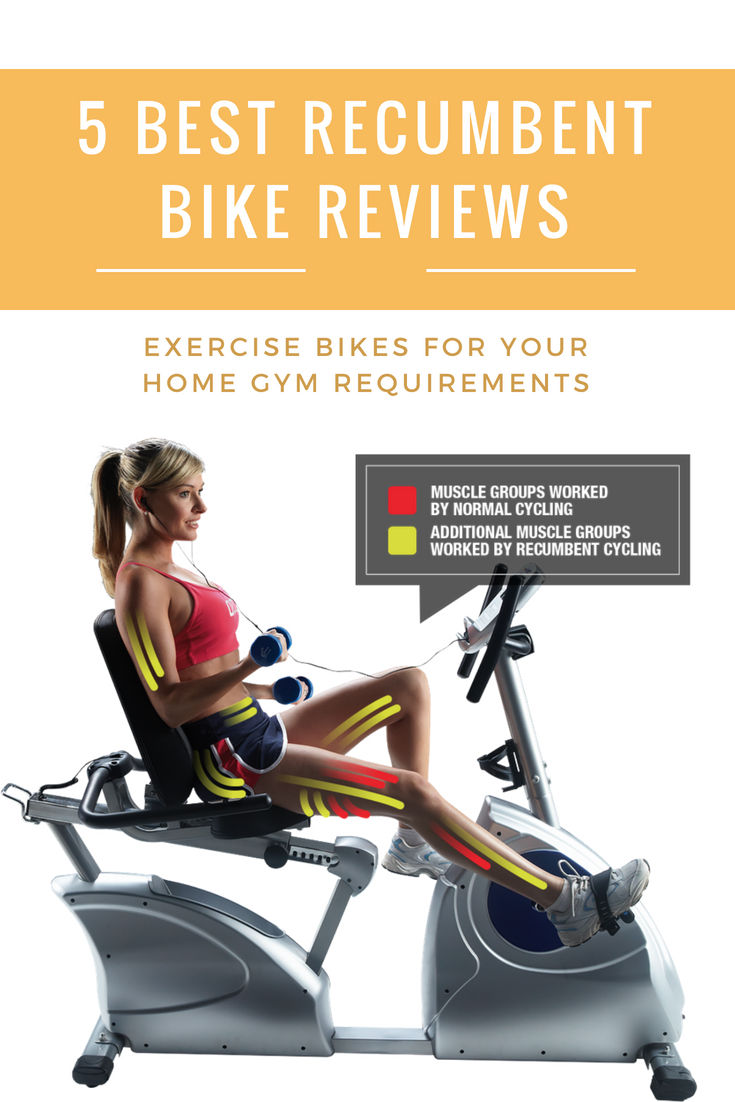 5 Best Recumbent Bikes Exercise Bikes For Your Home Gym