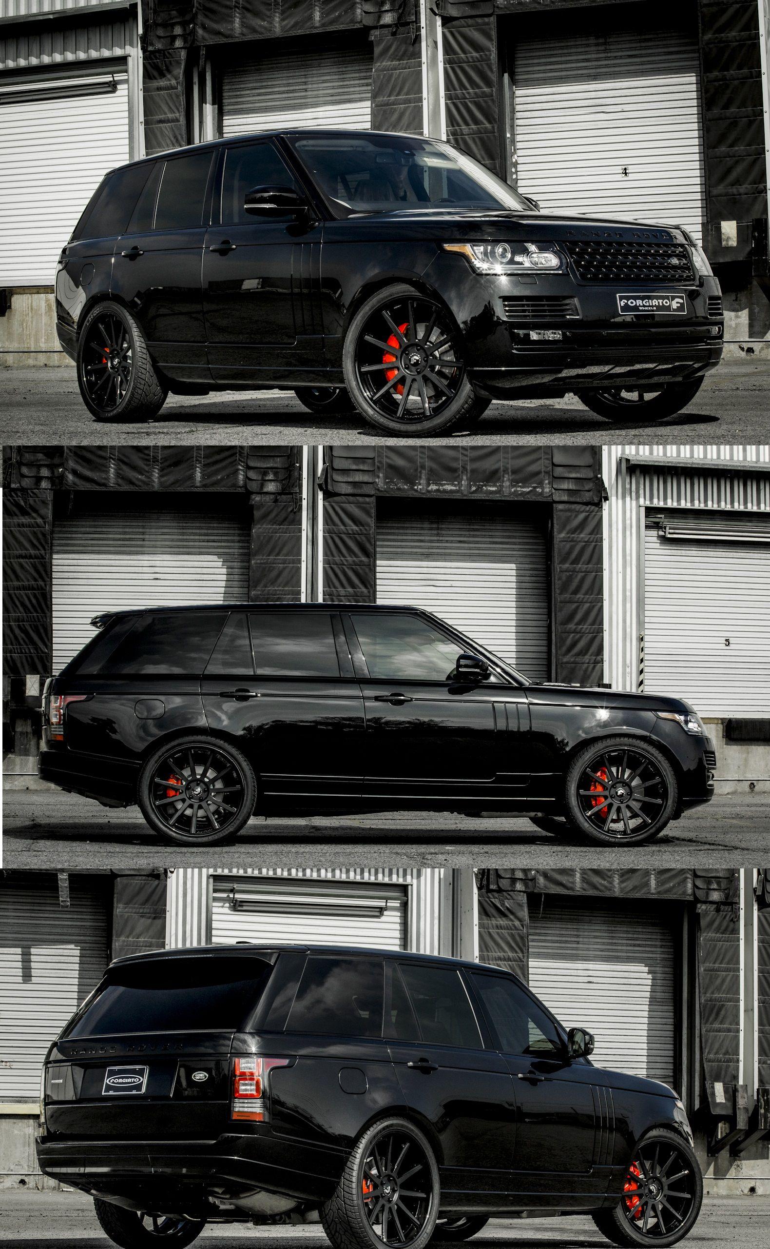 Range Rover Black Edition Range Rover Black Luxury Cars Range