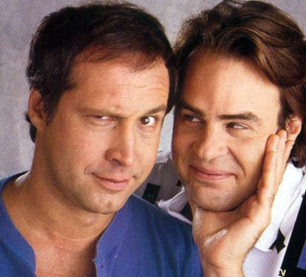 Chevy Chase & Dan Akroyd- Luv these guys make the best movies