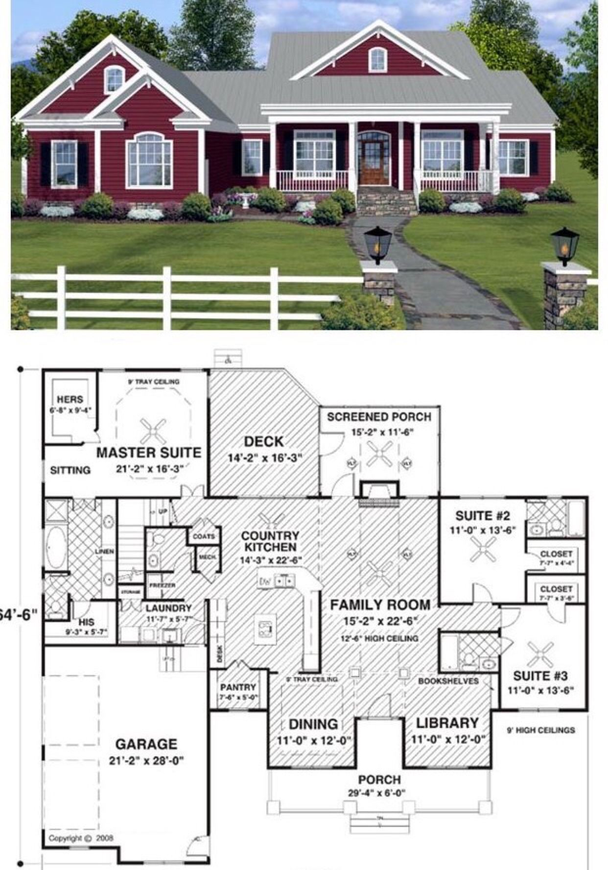 Cottage life homes in pinterest house house plans and