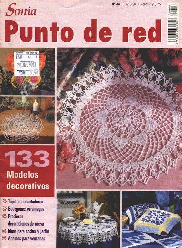 Sonia Punto de Red 44 | Sonia punto de red | Pinterest | Redecilla ...