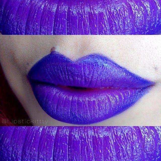 Lipstick: @NYXCosmetics Twisted ($6.00) Liner: #ItaliaDeluxe Violet ($1.50) #NYXCosmetics #Nofilter #vegas_nay #highvoltagelipsticks