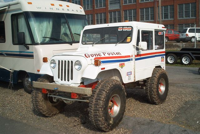 Jeep Gone Postal Dj Mopar Jeep Vintage Jeep Jeep