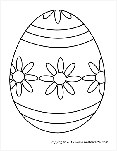Easter Eggs Free Printable Templates Coloring Pages Firstpalette Com Easter Egg Coloring Pages Easter Coloring Pages Paper Embroidery