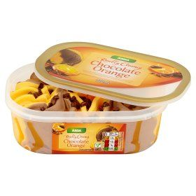 Asda Really Creamy Chocolate Orange Ice Cream Online Food