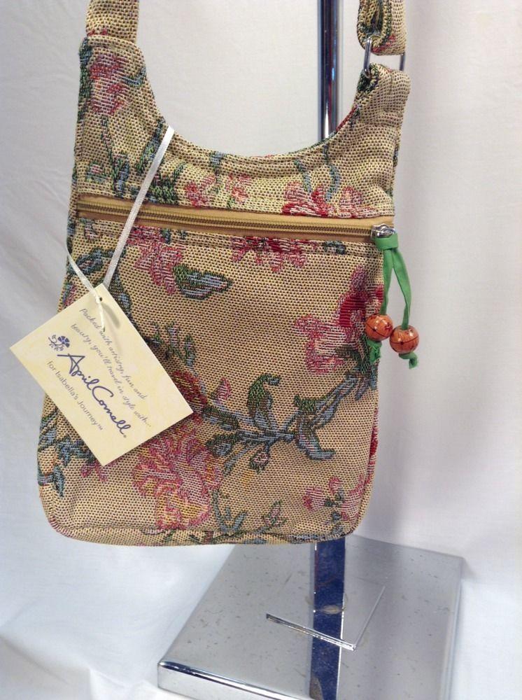 3029e37807 April Cornell Isabella s Journey Milene Tapestry Cross-Body Shoulderbag  Purse