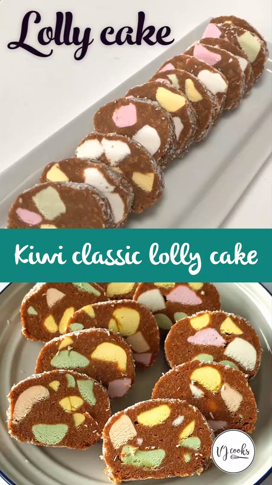 Easy Recipe For Classic New Zealand Lolly Cake Plus Quick Video Recipe Lolly Cake Milk Recipes Xmas Food