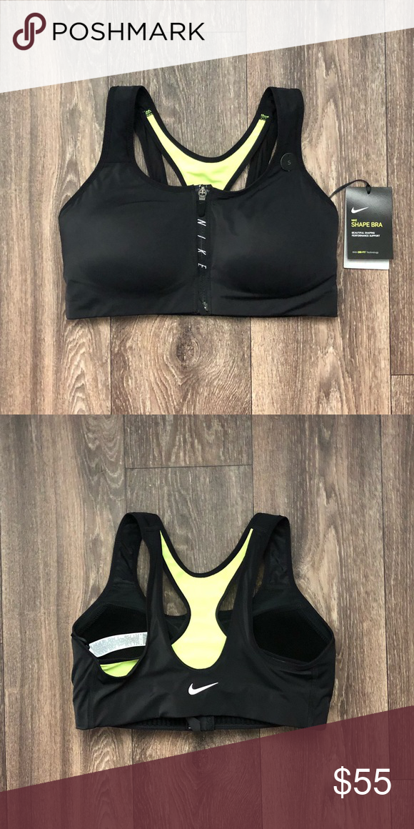 3399daec4c52b Nike Shape Sports Bra brand new with tags zip front send me your best offer!  Nike Intimates   Sleepwear Bras