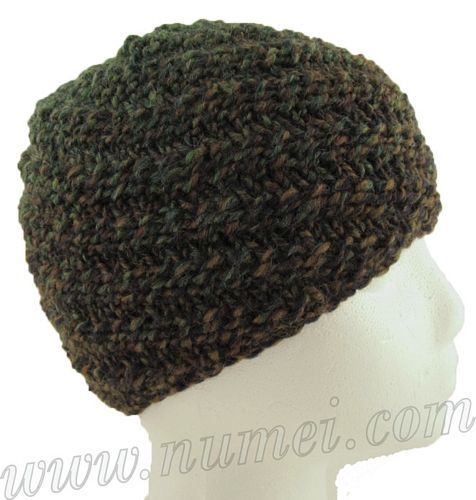 Free knitting pattern for Taylor swirl beanie. d9a7d752089