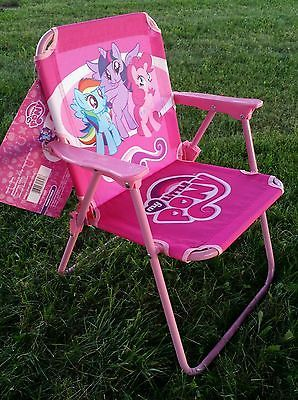 My Little Pony Toddler Kids Patio Folding Lawn Chair