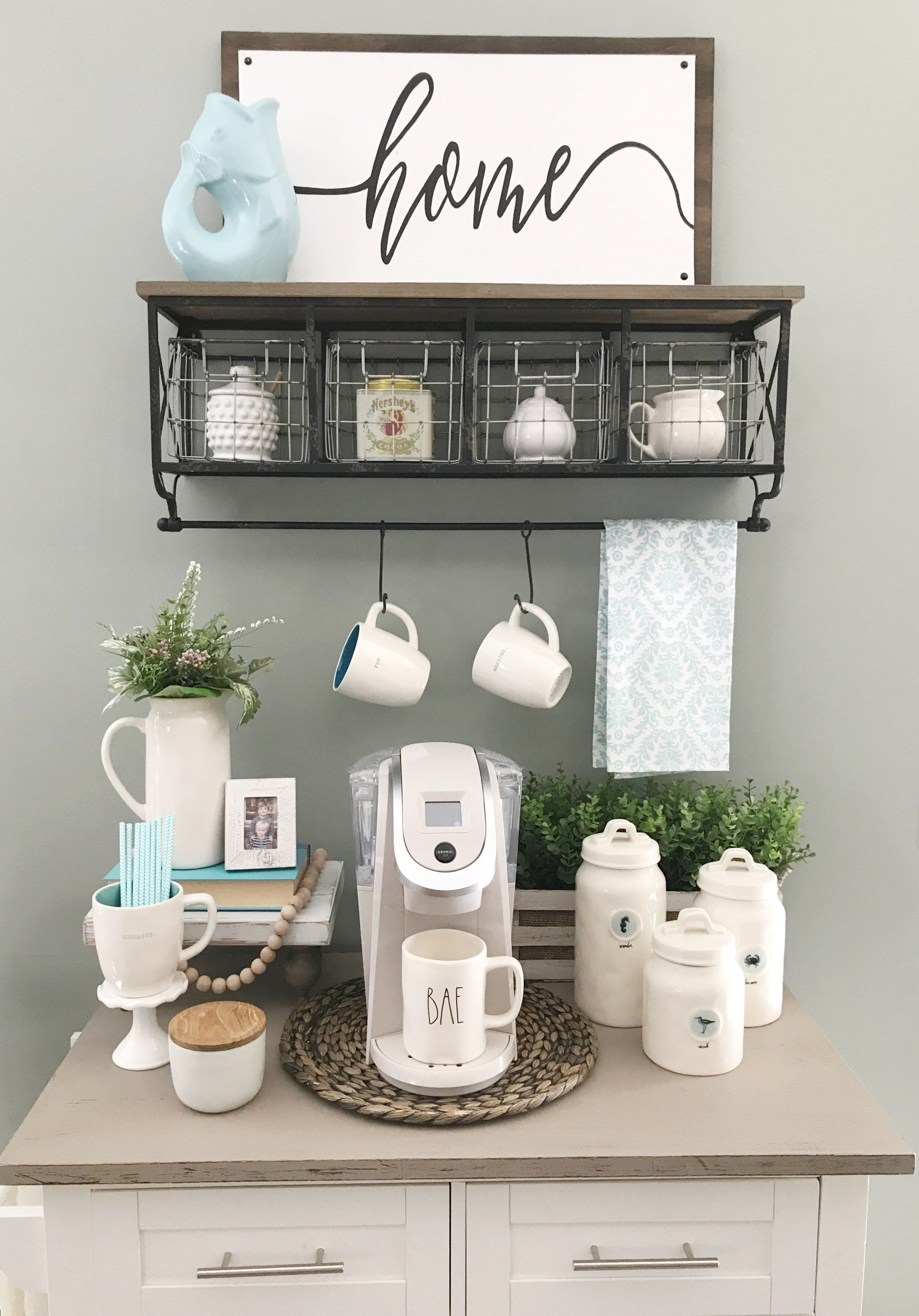 Coffee Bar Summer Update Robyn S Southern Nest Home Co