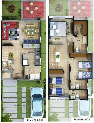 Planos Para Referencias Casa C Al Fraijanes Planos De Casas 3d Planos Para Construir Casas Planos De Casas Pequenas Modernas