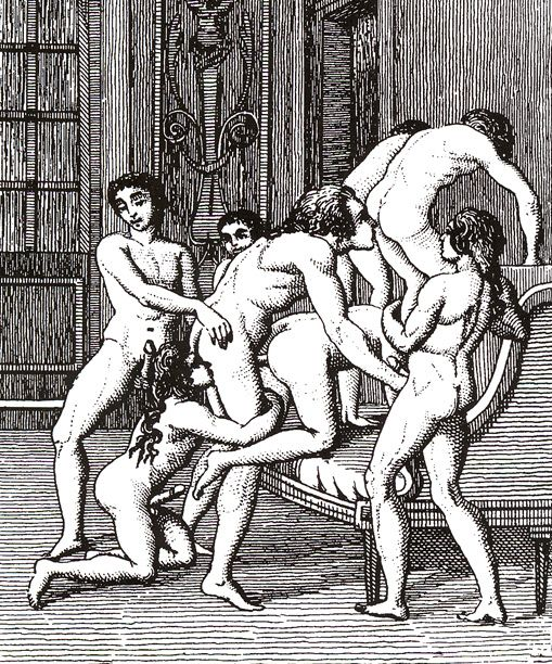 сексуальные развлечения при царском дворе девушки