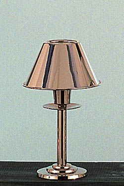 Silver mini lamp with shade shaded cordless lamps pinterest silver mini lamp with shade aloadofball Image collections