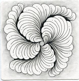 Inkidoodles and Zentangle Meets Typography: How to draw Zentangle Pattern, Biscus and Showgirl