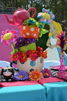 Alice In Wonderland Mad Tea Party Birthday Party Ideas