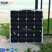 Solarparts 1x 50w Free Shipment Solar Panel Flexible 12v Solar System Solar Module Solar Cell Outdoor Rv Marine Boat Cheap With Images Solar Module Solar Cell Solar Panels