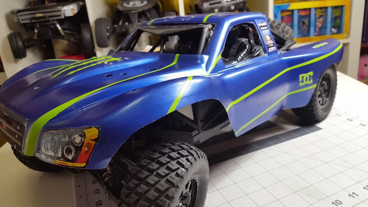 THE TRAXXAS/AXIAL HYBRID BUDGET TROPHY TRUCK BUILD