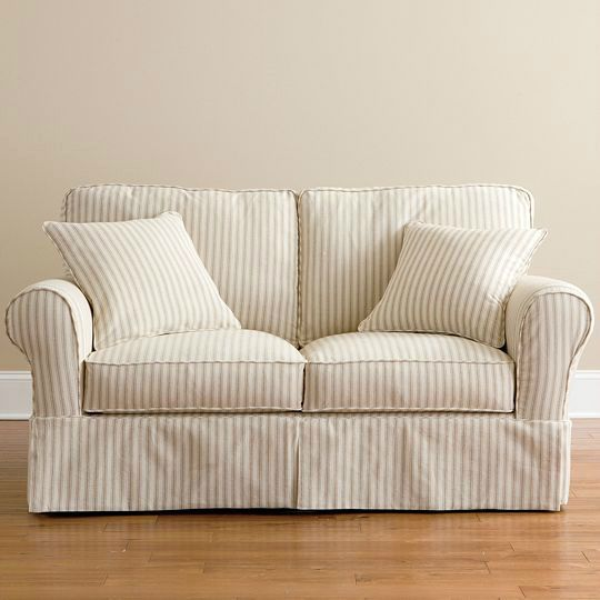 Slipcovers For Sofas And Loveseats Slipcovered Sofa Love Seat