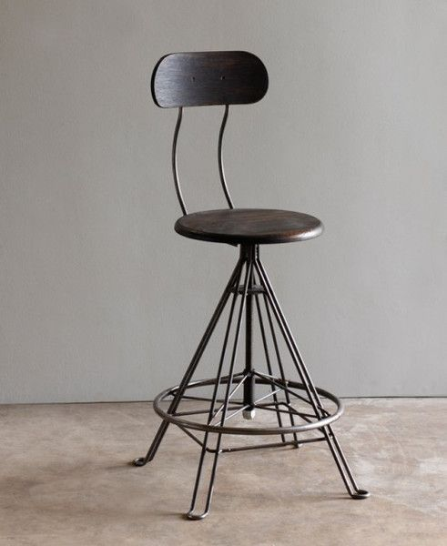 Round Back Bar Stool Kitchen Pinterest Bar Stool