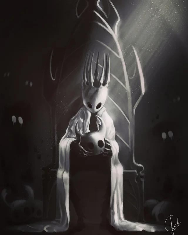 Hollow knight 上的釘圖