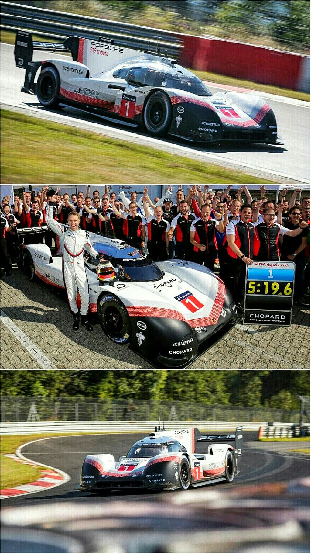 Porsche sets new Nürburgring lap record! Porsche has not