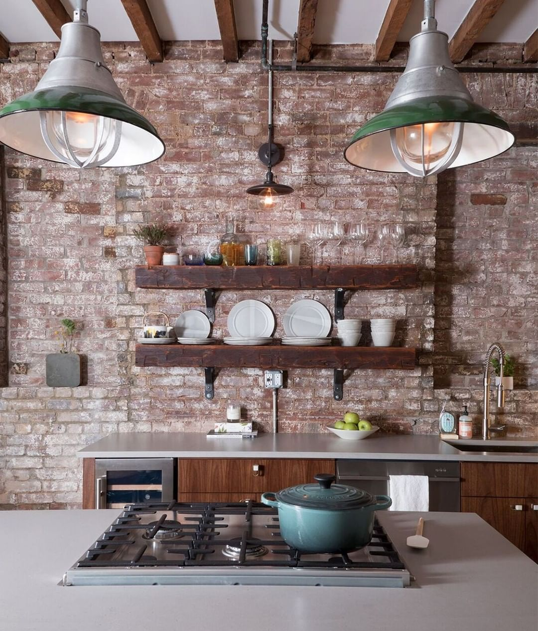 We Re Concrete Ly In Love With This Kitchen From Brittany Marom