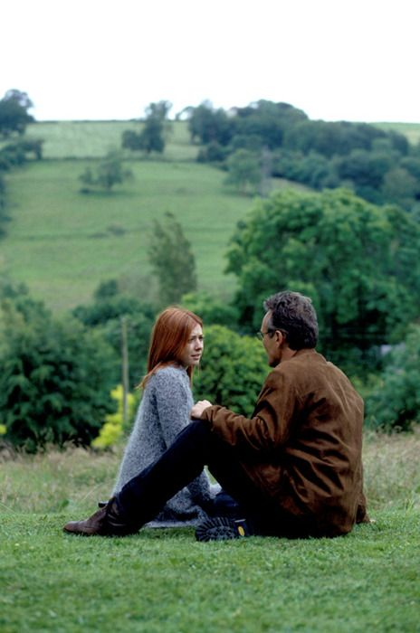 Willow and Giles. Superb scene in which Dumbledore is referenced, which alone makes it fab