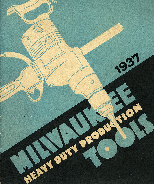 1937 Milwaukee Electric Tool Product Catalog