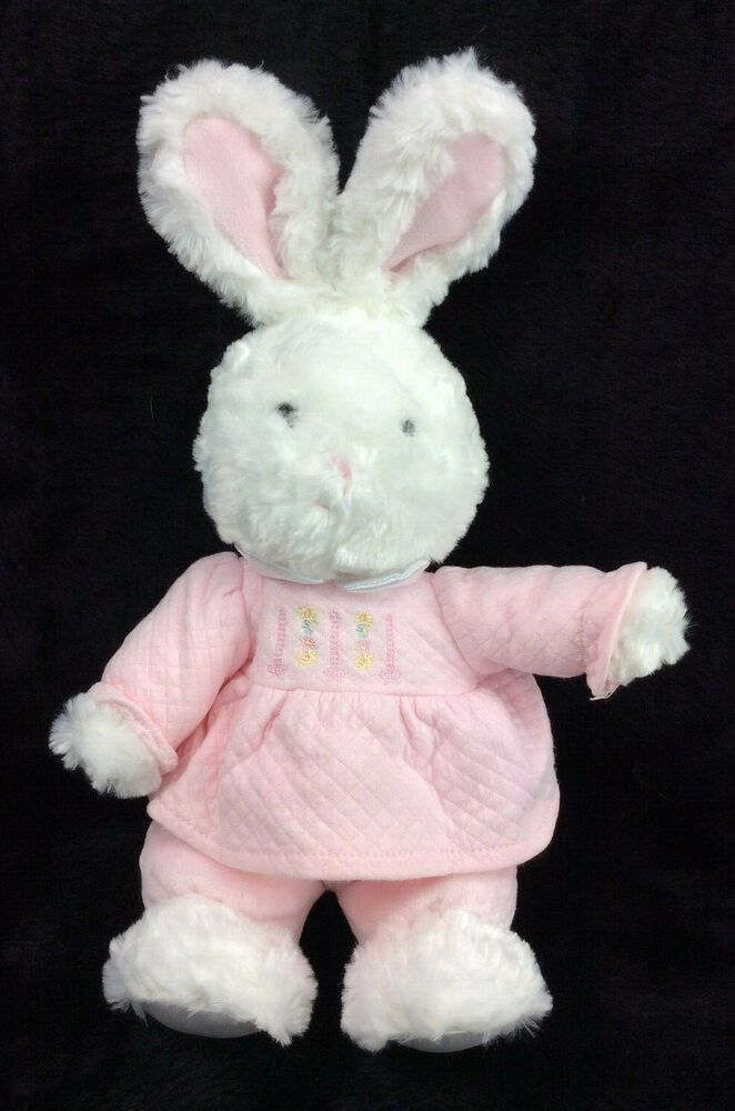 Baby Girls Bunny Floppy Beanbag with Blanky JUST One You Made by Carters