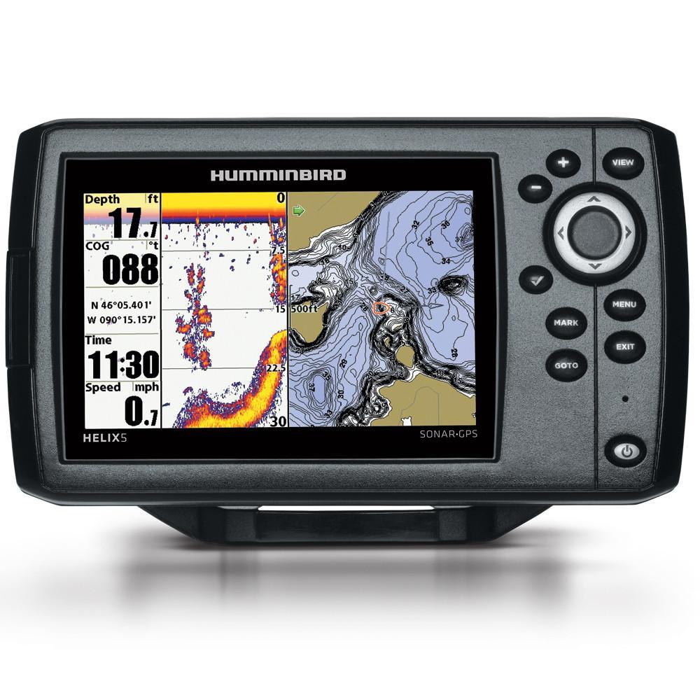 Humminbird Helix 5 G2 Chirp Gps Combo In 2020 Humminbird Depth Finder Portable Fish Finder