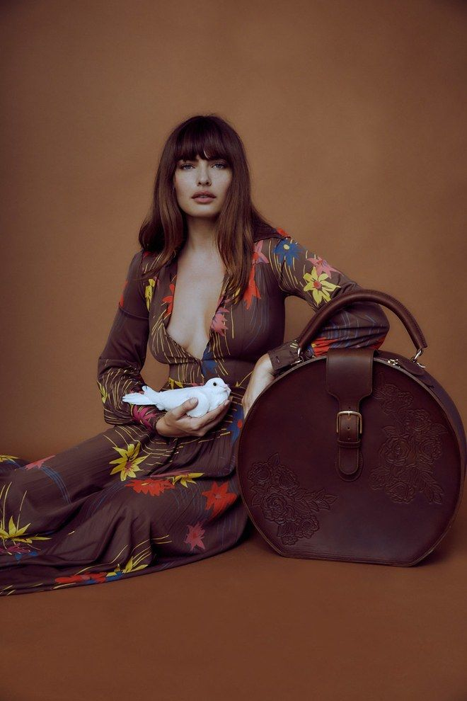 Hatboxes, Cannabis Cases, and Carry-Ons: How a Supermodel Designed the Boho Luggage of Your Dreams