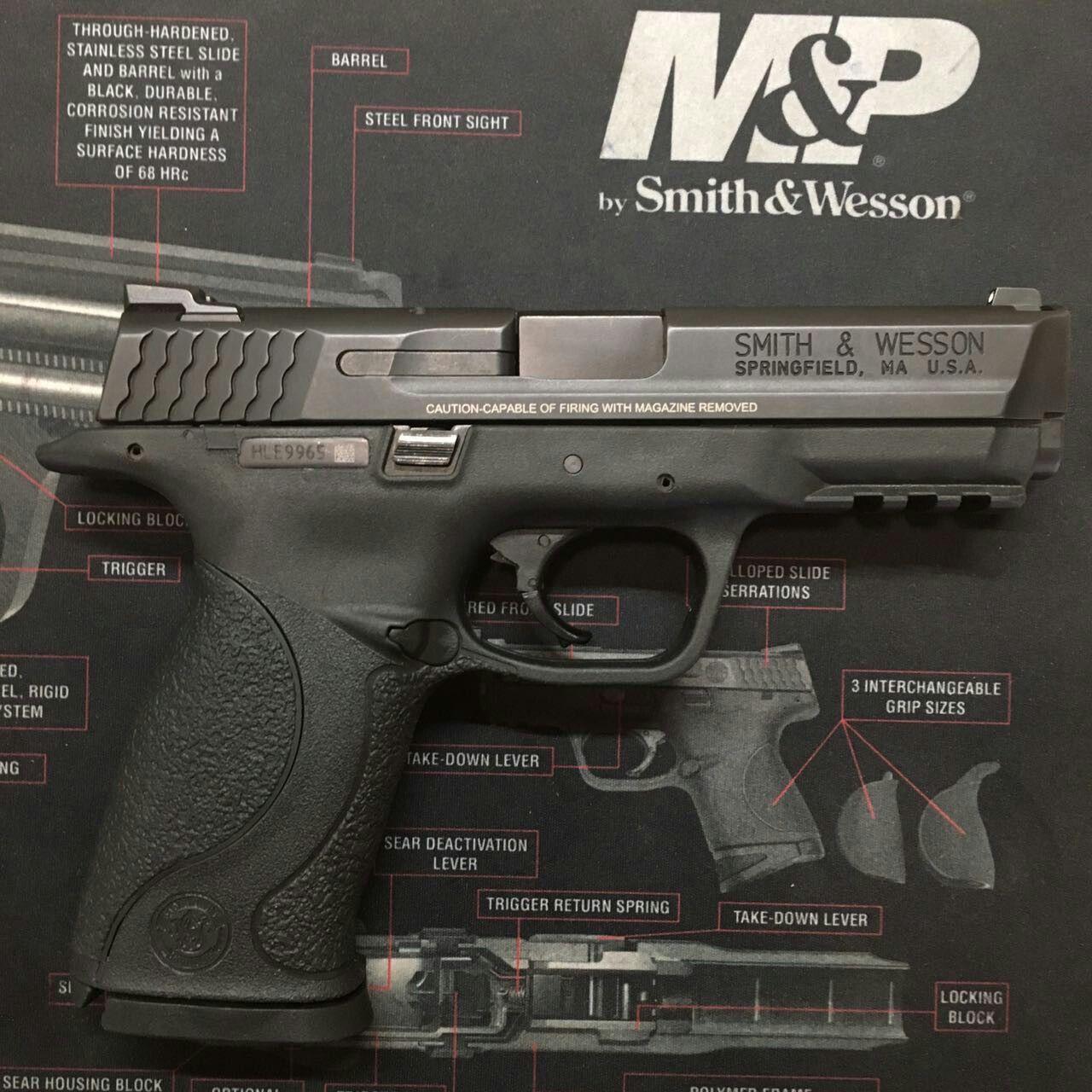 Smith & Wesson M&P | de Marco Armas | Pinterest | Marcos