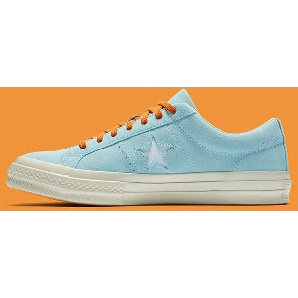 8872c081a38 Golf Wang x Converse One Star Clearwater ( 100) ❤ liked on Polyvore  featuring home and home decor